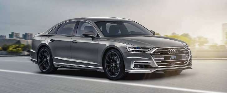 ABT Sportsline Offers Aerodynamic Package, Power Upgrade For Diesel Audi A8