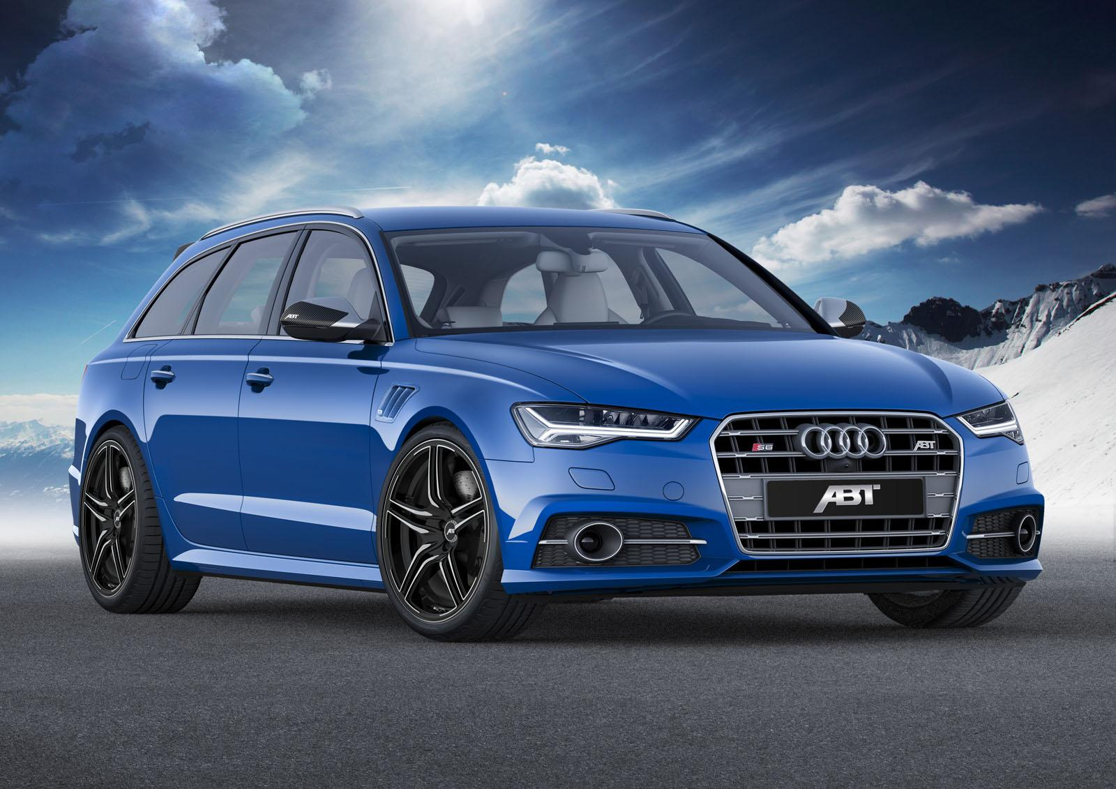 Abt Sportsline Tunes 2015 Audi S6 To Rs6 Like 550 Hp