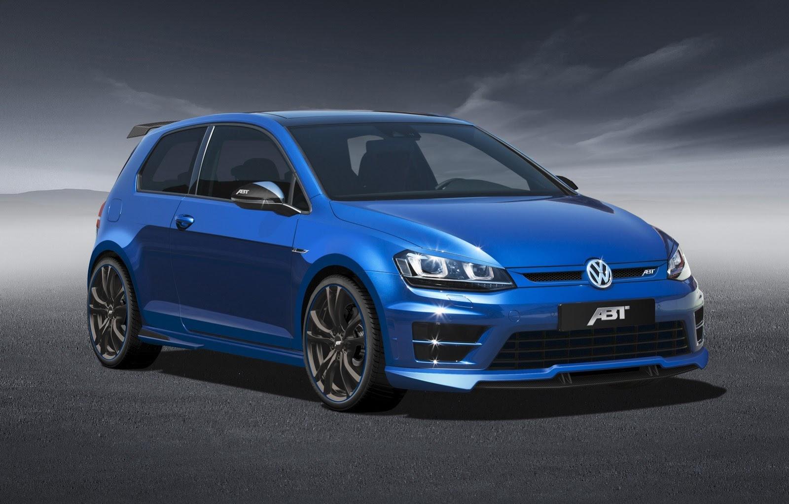 ABT Tunes New Golf R to 370 HP for Geneva - autoevolution