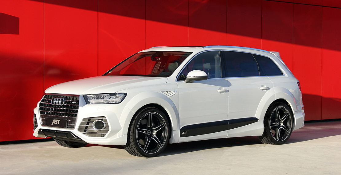 Volkswagen Group Latest Models >> ABT Unveils Tuning Kit For Second Generation Audi Q7 ...