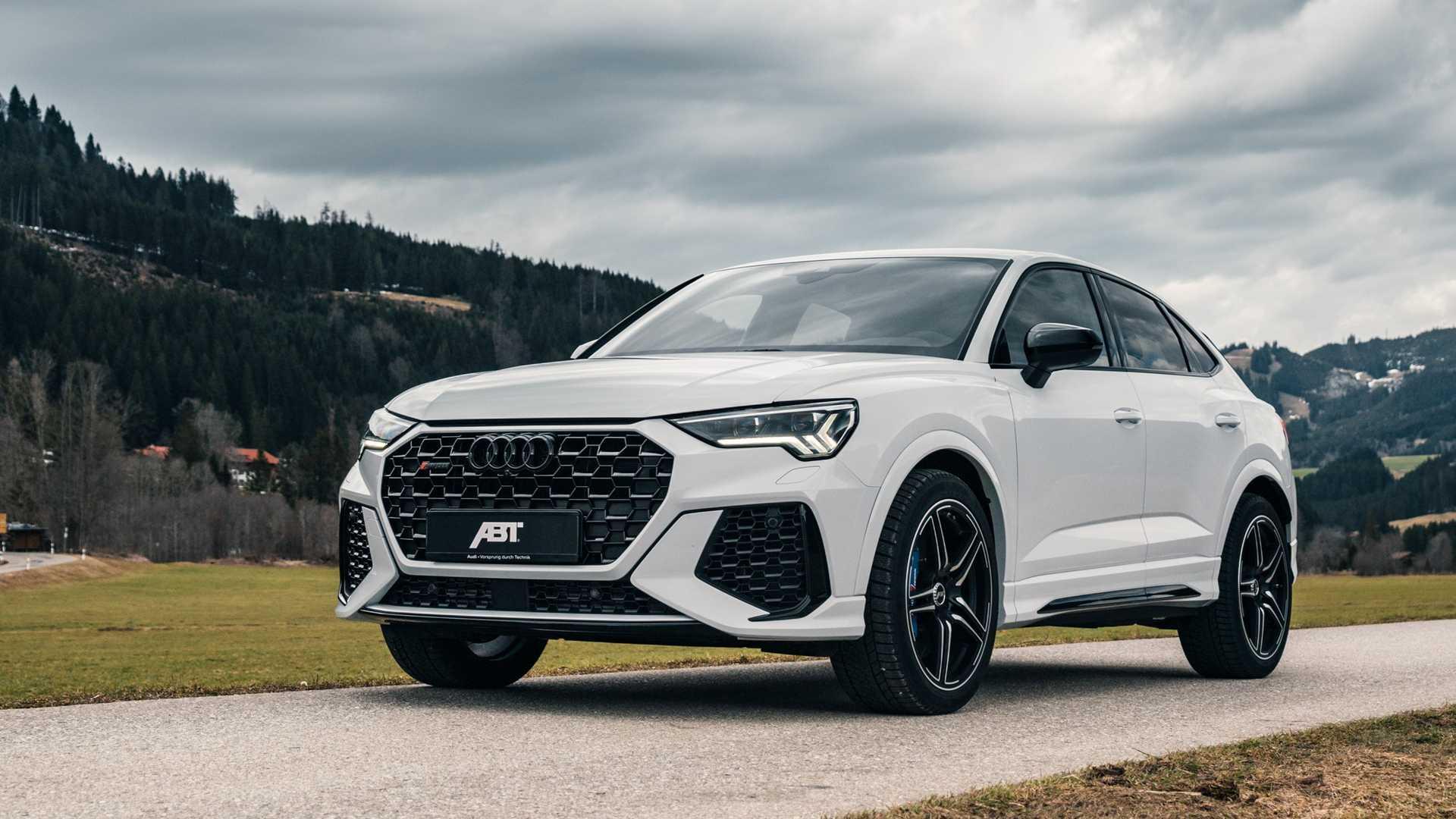 Abt Works Its Magic On Audi S Untamed Rs Q3 Sportback Autoevolution