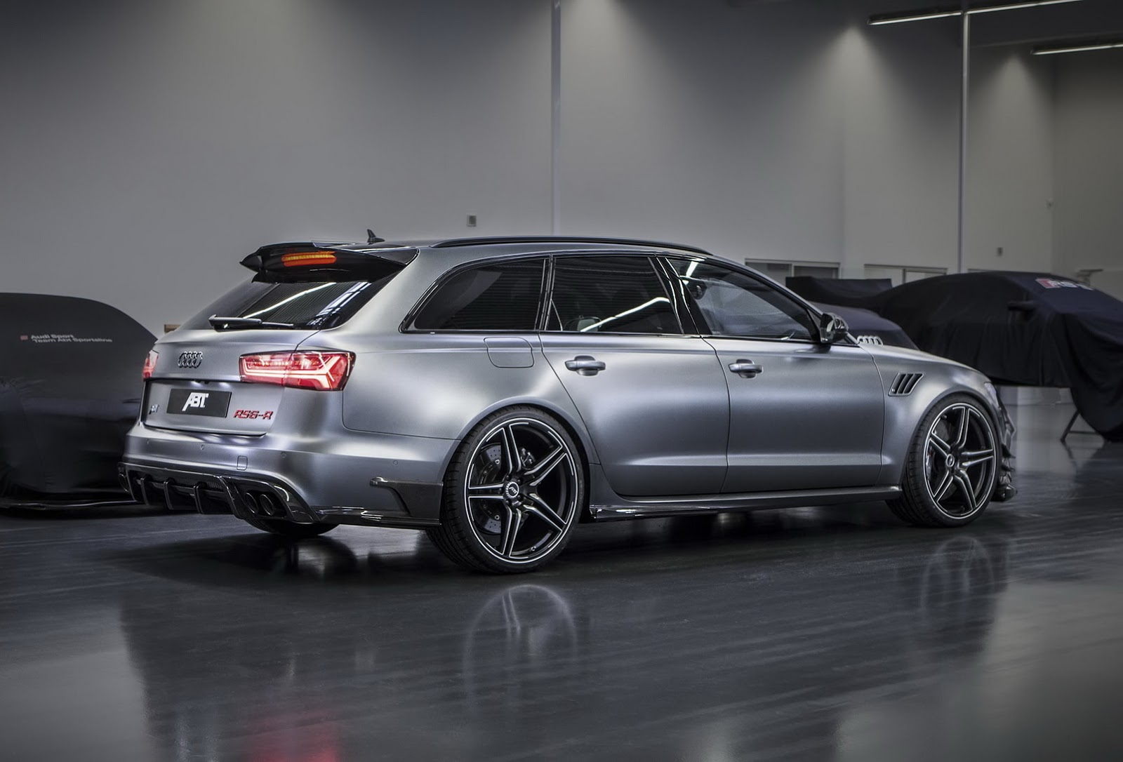 Abt S Rs6 R Looks Like It Could Use A Rehab Autoevolution