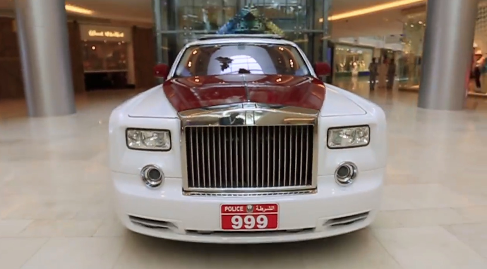 Abu Dhabi Police Will Have A Rolls Royce Phantom Chasing Bad Guys Autoevolution