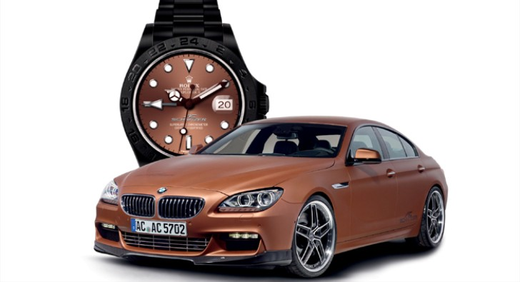 AC Schnitzer Now Has a Complementary Rolex to Go With Their ACS6 Gran Coupe