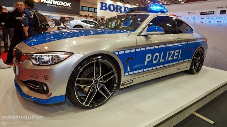 ac schnitzer police car has 294 hp at essen motor show. Black Bedroom Furniture Sets. Home Design Ideas