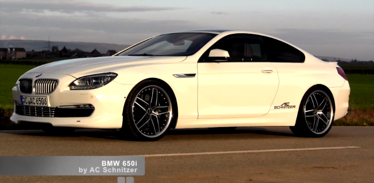 AC Schnitzer Releases Custom Mufflers for BMW 650i [Video]
