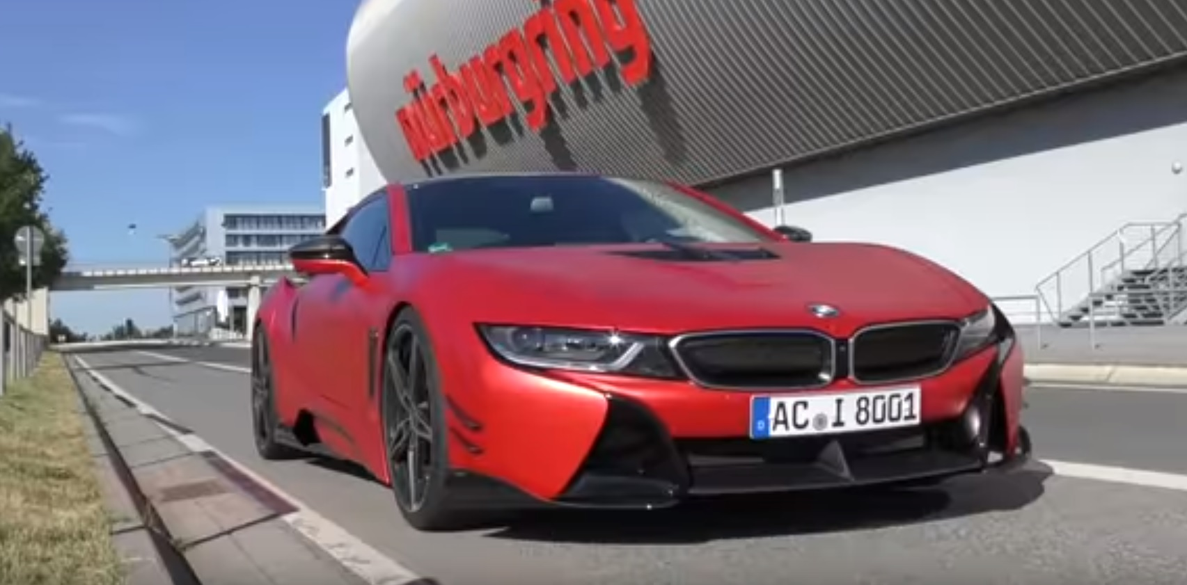 Ac Schnitzer Tuned Bmw I8 Gets Pretty Lame Nurburgring Lap Time
