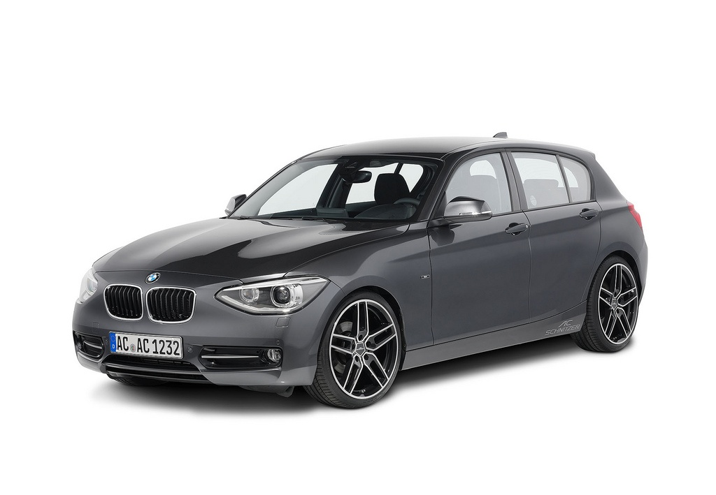 ac schnitzer unveils customization program for bmw 1 series autoevolution. Black Bedroom Furniture Sets. Home Design Ideas
