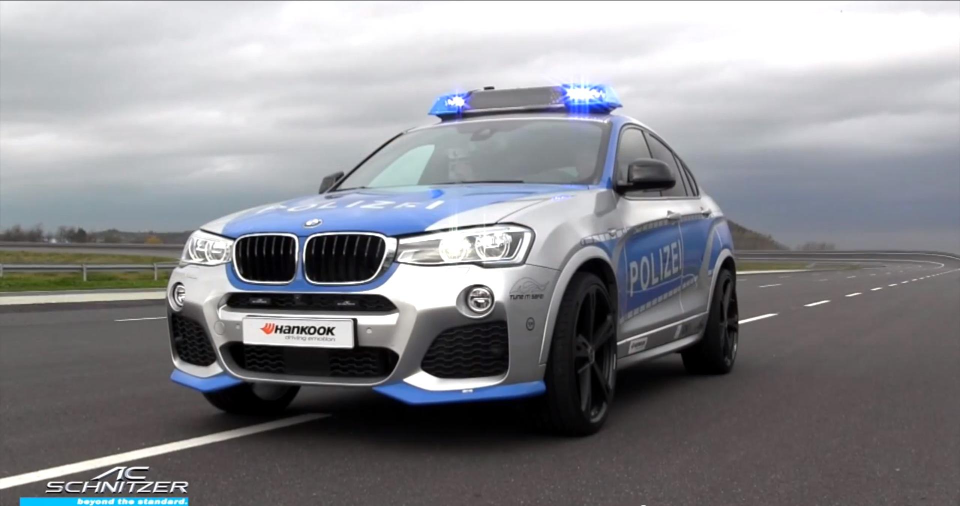 AC Schnitzer X4 Police Car Debuts at 2014 Essen Moto Show  BMW X4