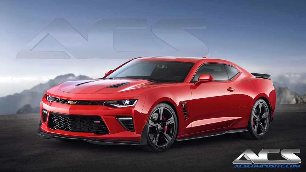 Acs Composite Aeropack Is Go For The 2016 Chevrolet Camaro