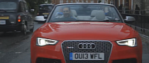 Actor Tom Hardy Tests the Audi RS5 Cabrio in the Rain [Video]