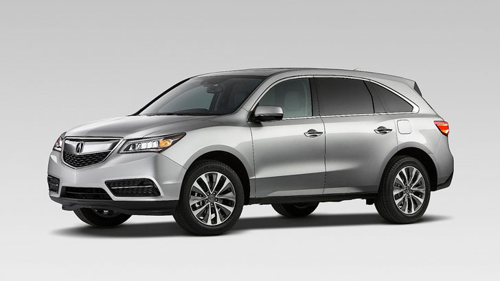 acura claims mdx is best selling 3 row luxury suv ever autoevolution. Black Bedroom Furniture Sets. Home Design Ideas