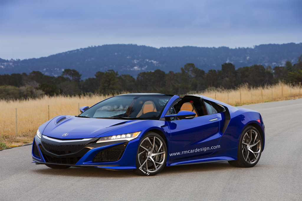 Could NSX Give Birth To Baby ZSX? - 2016+ Acura NSX Forum on