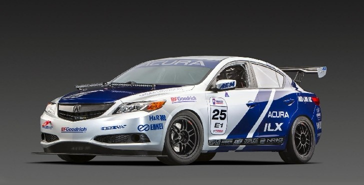 Acura ILX Endurance Racer Shows Up at 2012 SEMA [Photo Gallery]