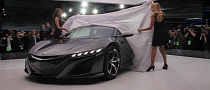 Acura NSX Concept Gets Interior in Detroit [Photo Gallery]