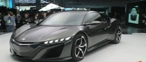 Acura NSX Concept II Revealed in Detroit, Shows Up in Gran Turismo 5 Game [Video]