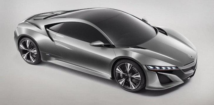 Acura NSX Concept Revealed