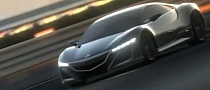 Acura NSX Featured in Gran Turismo 5 Video