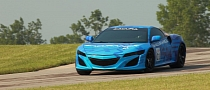 Acura NSX Prototype Revealed, Headed for Mid-Ohio Public Debut