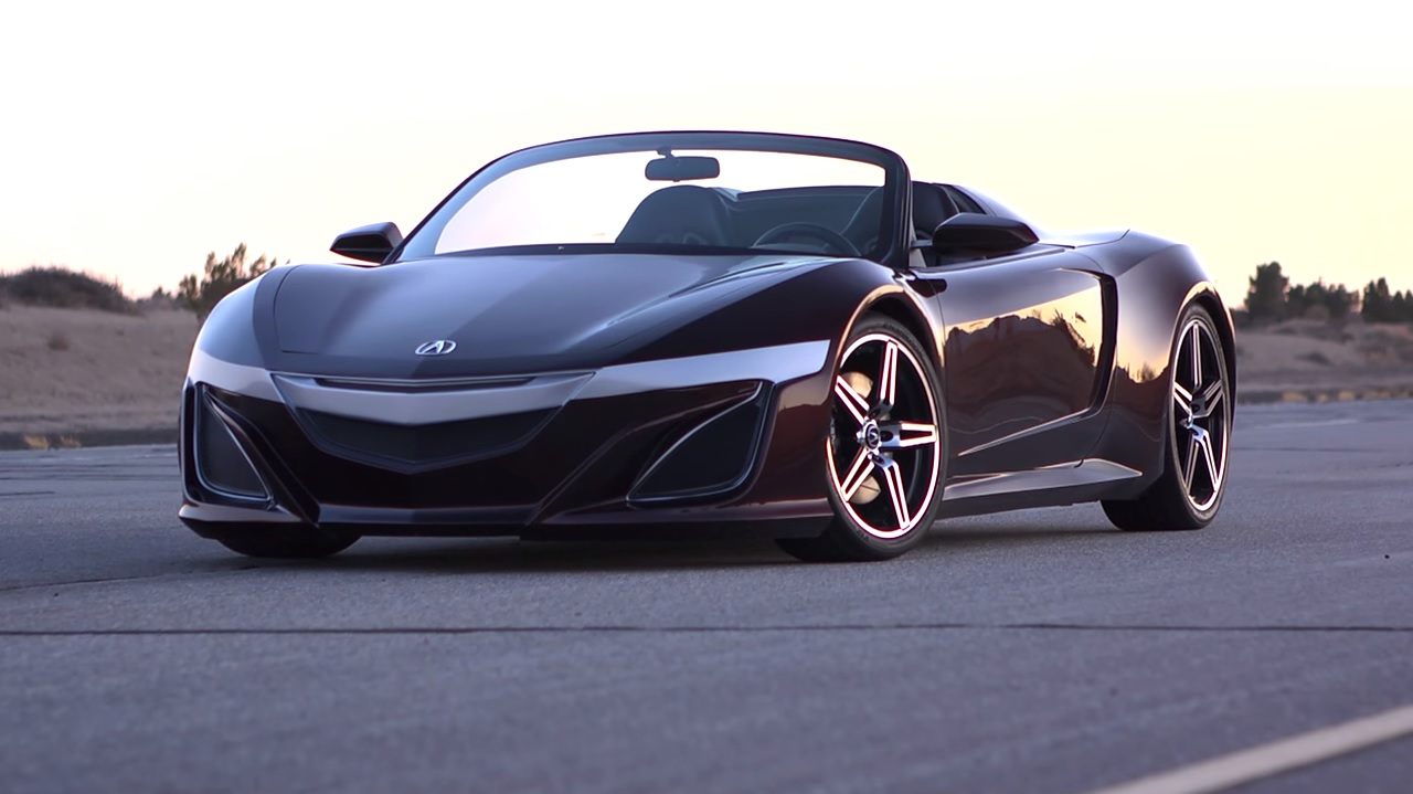 Acura NSX Roadster Rumored To Debut Later This Year - autoevolution