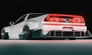 "Acura NSX ""Stormtrooper"" Is a Downforce Master"