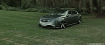 Acura TL Rides on 20-inch Vossen Wheels [Video]