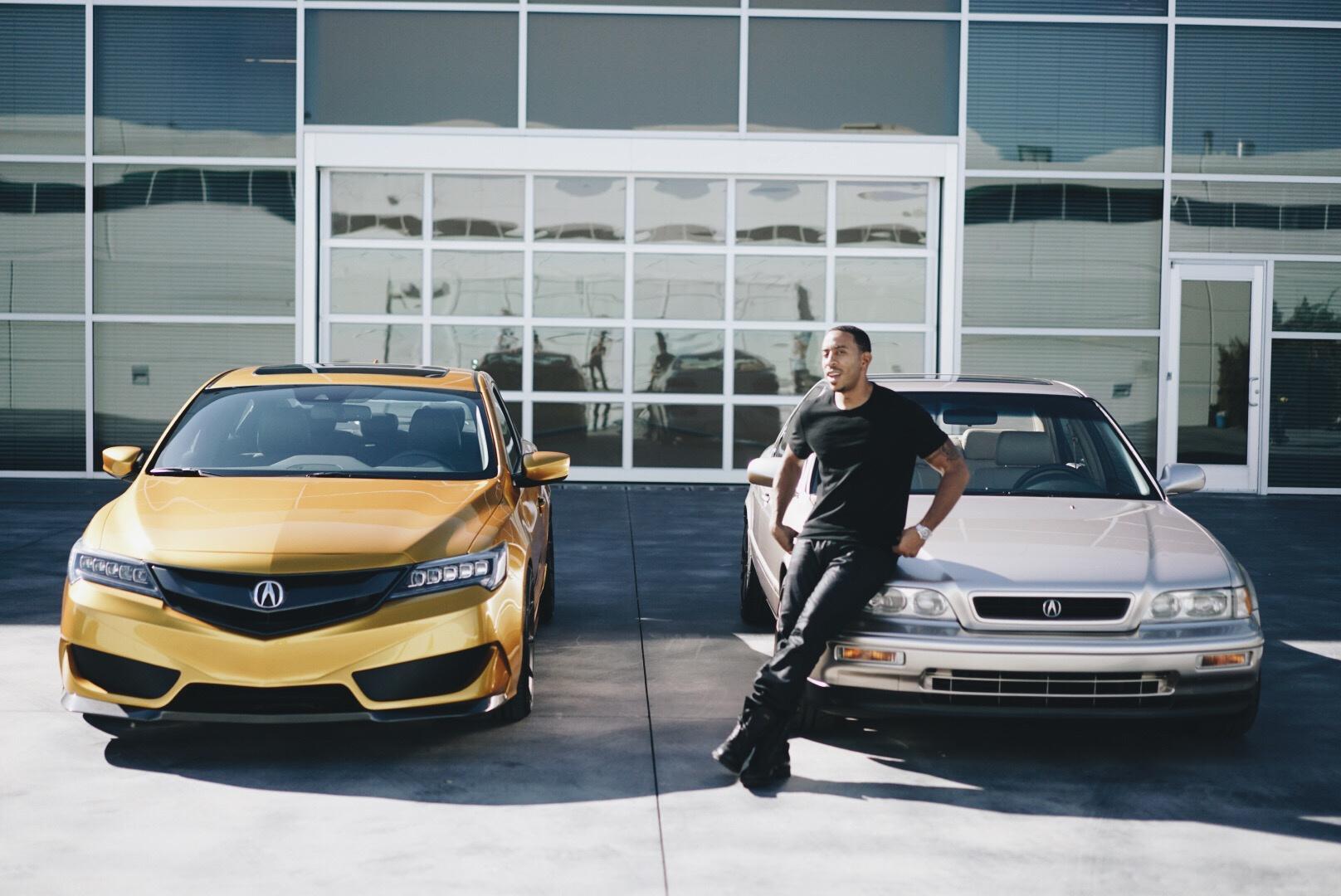 Acura Unveils Ludacris' 1993 Restored Legend Sedan at 2015 ...