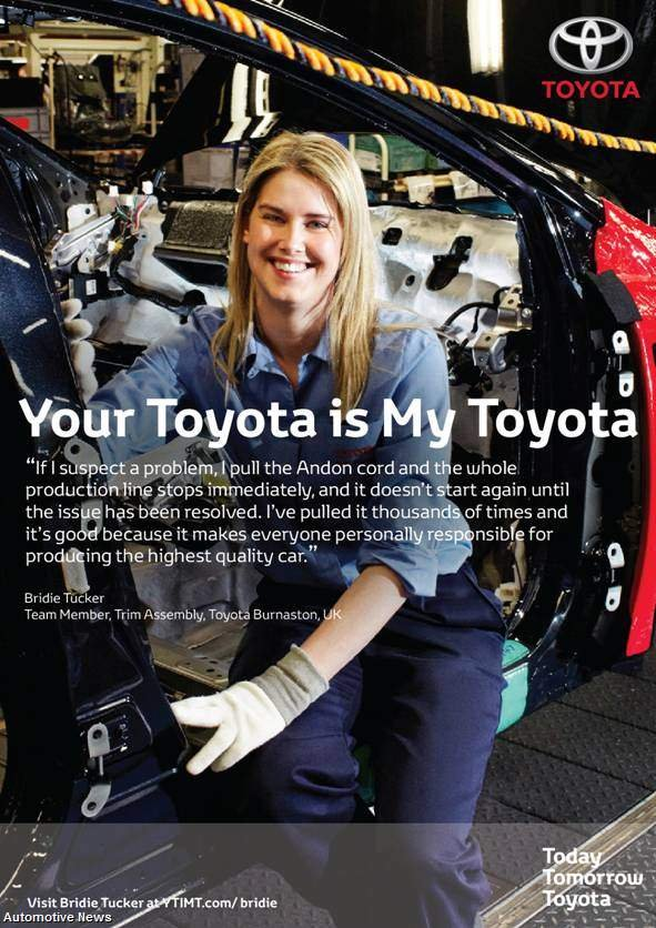 Ad Campaign Shows The Quot Human Face Quot Of Toyota Autoevolution