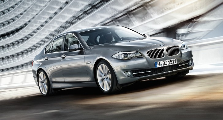 ADAC's Gelber Engel Award Goes to BMW 520d EfficientDynamics Edition