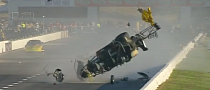 Adam Flamholc Crashes Hard During NHRA Midwest Nationals [Video]