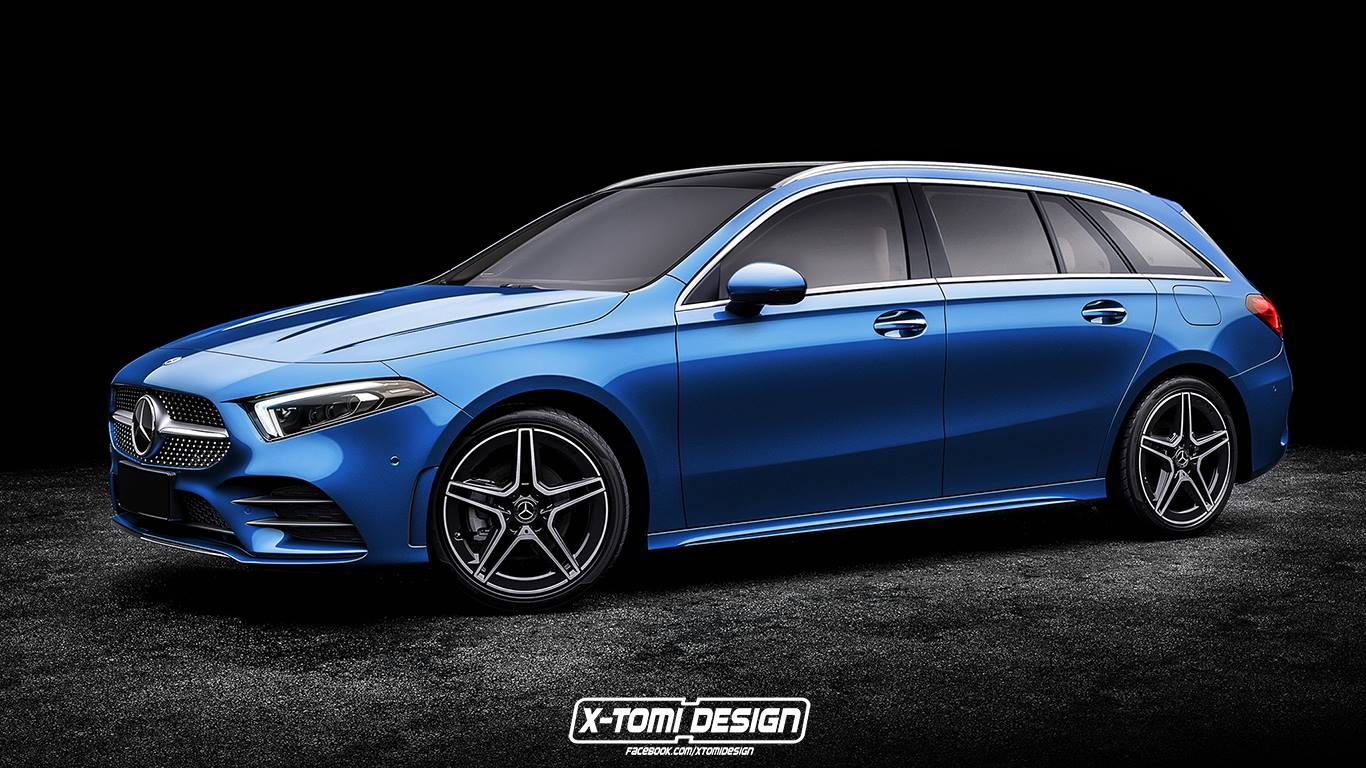 Add This 2019 Mercedes A Class Wagon Rendering To The List Of Cars