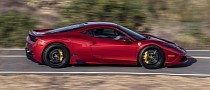 Bulletproof Ferrari 458 Speciale Is Pretty Conspicuous for an Armored Vehicle