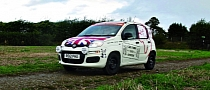 Adventurers Attempt 9134-Mile African Record in a Fiat Panda