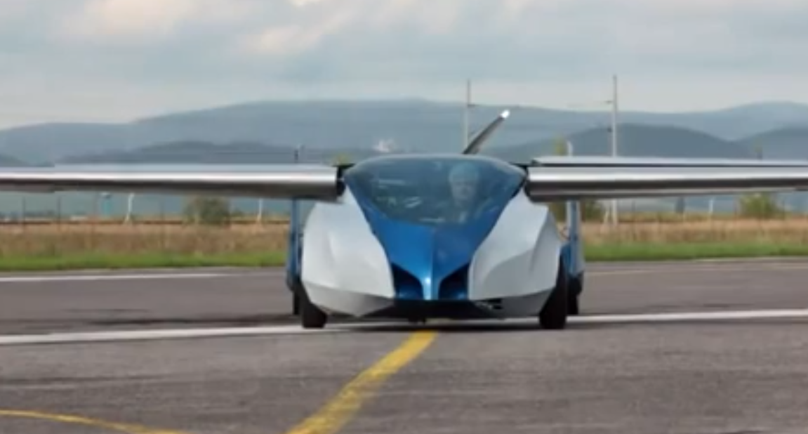 Aeromobil 2.5 Is a Flying Car From Slovakia - Video - autoevolution