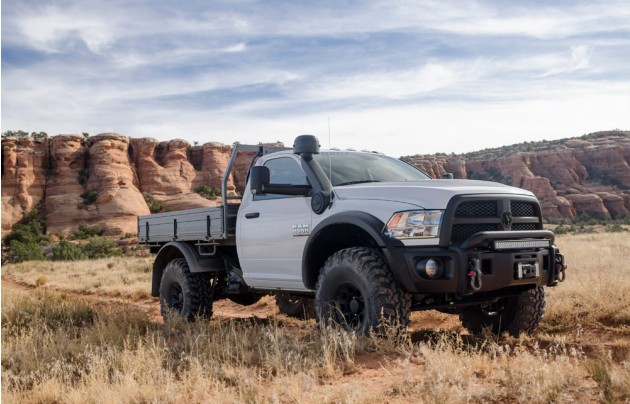 Aev Ram Pickup Truck Is The Ultimate Full Size Overland