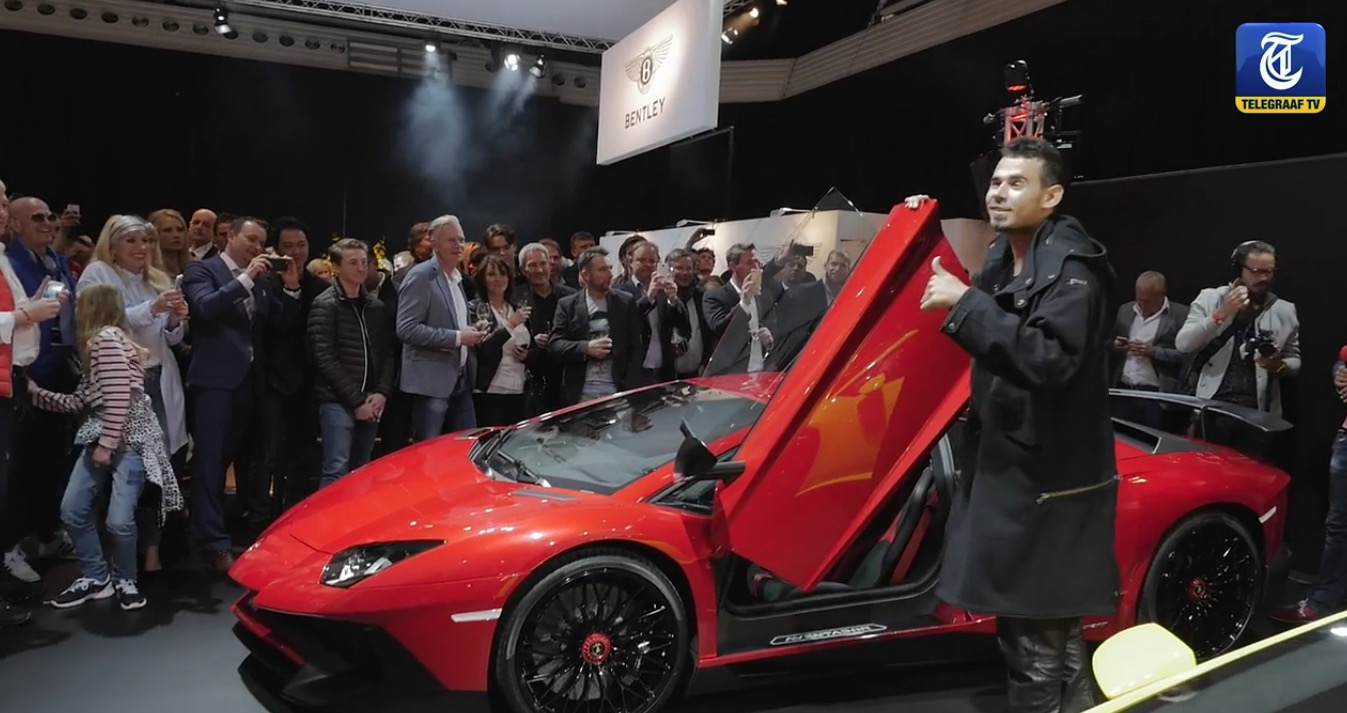 Afrojack Adds Lamborghini Aventador Superveloce To His Car