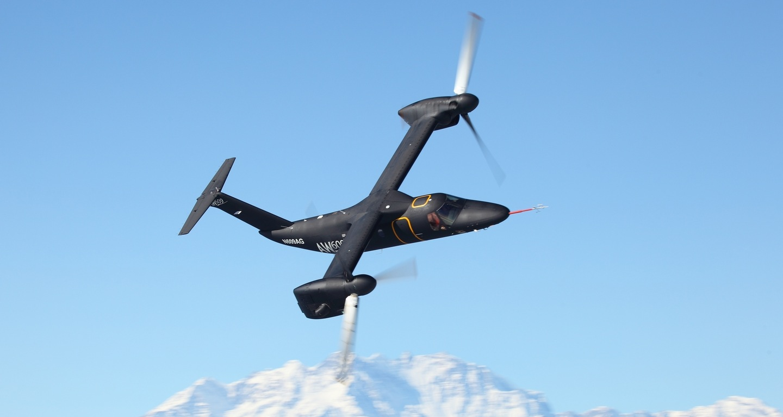 Agusta westland aw609 tilt rotor aircraft is the civilian cousin of the v 22 osprey autoevolution