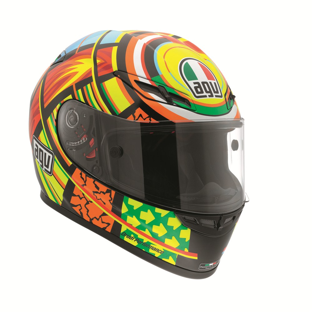 agv launches the rossi elements edition helmet autoevolution. Black Bedroom Furniture Sets. Home Design Ideas