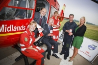 Volvo Trucks' support raises nearly £40,000 for Midlands Air Ambulance Services