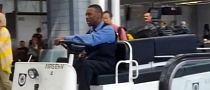 "Airport Cart Driver's ""Beep! Beep!"" Is Police Academy Stuff [Video]"