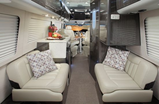 Mercedes Sprinter Rv >> Airstream Debuts 2011 Interstate 3500, Mercedes-Based - autoevolution