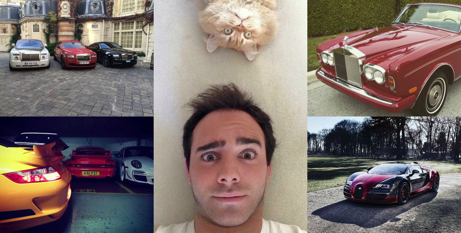 Akram Ojjeh S Son Is A Player Who Loves Cats And Hypercars