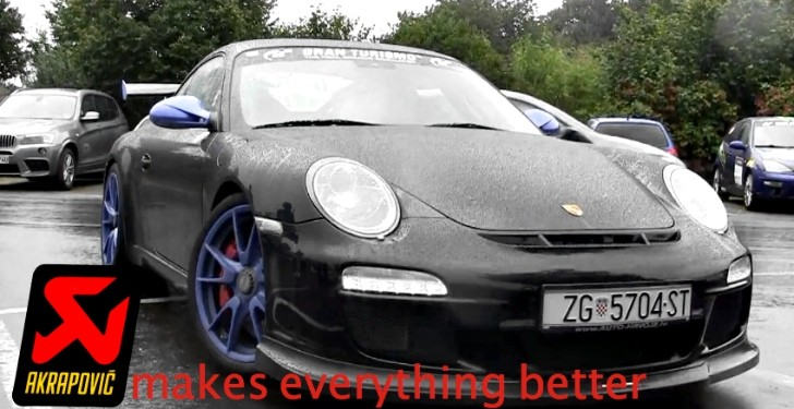 Akrapovic Exhaust Makes Porsche 997 GT3 Sound So Much Better! [Video]