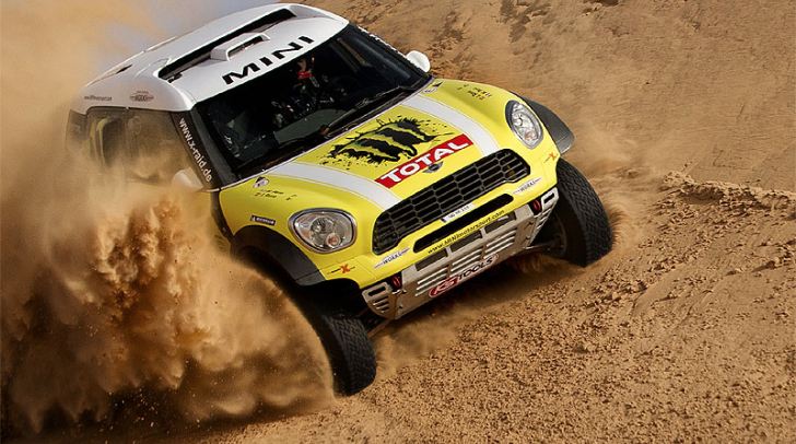 Akrapovic Joins Forces with MINI for the 2014 Dakar Title