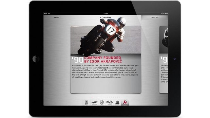 Akrapovic Outs the First Motorcycle Exhaust iPhone/ iPad App [Photo Gallery]