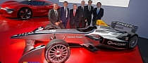 Alain Prost, Jean-Paul Driot Launch New Formula E Team
