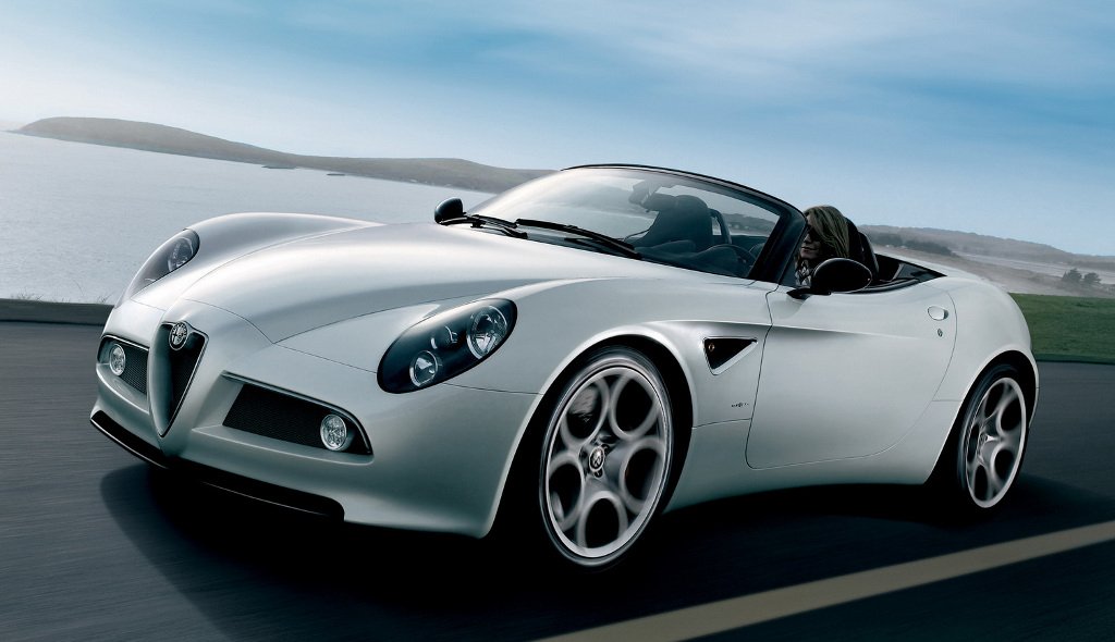 The Top Gear Magazine Has Named Alfa Romeo 8c Spider Most Beautiful Car Of Year Making Innovative And Exciting One All