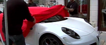 Alfa Brings a 4C to Venice [Video]