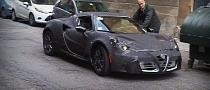 Alfa Rome 4C First Prototype Spotted