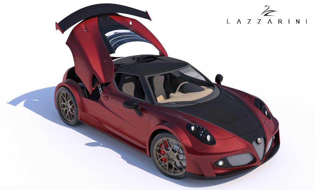 Alfa Romeo 4c Definitiva By Lazzarini Design Packs 738 Hp